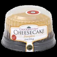 Chuckanut Bay Pumpkin Cheesecake