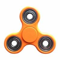 Worryfree Gadgets FIDGET-ORG Stress Relieving Fidget Spinner - Orange - 1
