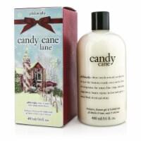 Philosophy Candy Cane Lane Shampoo, Shower Gel & Bubble Bath 480ml/16oz - 480ml/16oz