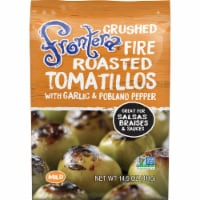 Frontera Gourmet Mexican Crushed Fire-Roasted Tomatillos with Garlic + Poblano