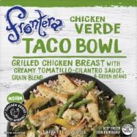 Frontera Medium Chicken Verde Taco Bowl