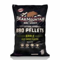 Bear Mountain BBQ Premium All Natural Hardwood Apple Smoker Pellets, 40 Pounds - 1 Piece