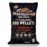 Bear Mountain BBQ Premium All Natural Wood Mesquite Smoker Pellets, 40 Pounds - 1 Piece