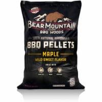 Bear Mountain BBQ 100% Natural Hardwood Maple Sweet Flavor Pellets, 20 Pounds