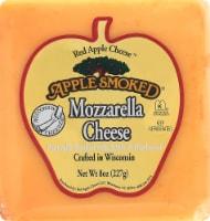 Red Apple Smoked Mozzarella Cheese