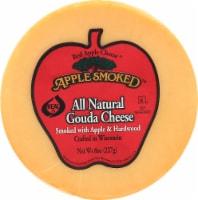 Apple Smoked Gouda Cheese - 8 oz