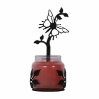 Butterfly- Large Jar Sconce