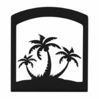 Triple Palm Tree Napkin Holder - 1 unit