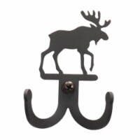 3 Inch Moose Double Wall Hook, VWI-WH-D-19