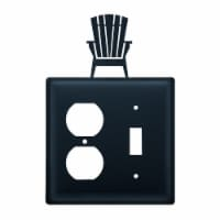Adirondack - Single Outlet and Switch Cover - 1 unit