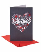 American Greetings #59 Valentine's Day Card (Floral Heart)