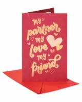 American Greetings #61 Romantic Valentine's Day Card (My Lover)