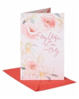 American Greetings #65 Valentine's Day Card for Wife (Floral)
