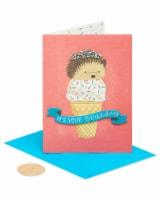 Papyrus #44 Birthday Card (Hedgehog)