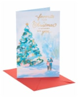 American Greetings Romantic Happy Christmas Card