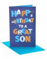American Greetings To A Great Son Birthday Card for Son