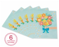 American Greetings Bouquet Thank You Card
