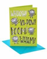 American Greetings #19 Birthday Card for Kid (Ninja)