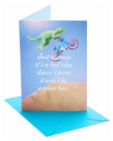 American Greetings Dinosaur Bike Funny Birthday Card