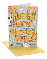 American Greetings Sports Birthday Card