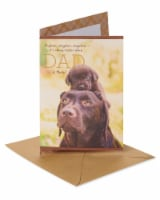 American Greetings #59 Father's Day Card (Dogs)
