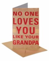American Greetings #62 Father's Day Card for Grandpa (Loved)