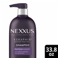 Nexxus Silicone-Free Keraphix with ProteinFusion Black Rice Shampoo for Damaged hair - 33.8 fl oz