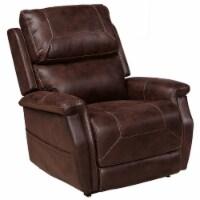 Sterling Lift Chair w/USB in Walnut Brown - 1