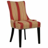HomeFare Dining Chair Bourbon Imperial Multi-Color Stripe - 1