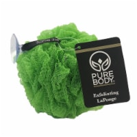 Pure Body Tropical Green Exfoliating Pouf