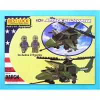 Daron Worldwide Trading  BL5561 Attack Helicopter 140 Piece Construction Toy