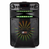 QFX 12  Bluetooth Rechargeable Speaker System w/ LED Lights & Smart App Control - 1 Piece