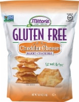 Milton's Craft Bakers Gluten Free Cheddar Cheese Baked Crackers - 4.5 oz