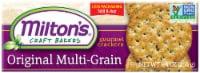 Milton's Craft Bakers Original Multi-Grain Gourmet Baked Crackers - 8.4 oz