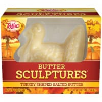 Keller's Turkey Shaped Sculpture Butter