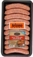 Denmark Foods Arizona Fresh Hot Italian Sausage Links