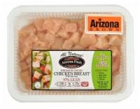 Denmark Diced Chicken Breast 97% Lean - 16 oz