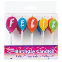 DecoPac Feliz Cumpleanos Balloon Candles