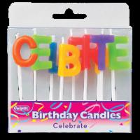 Culpitt Celebrate Letters Cake Candles