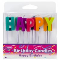 DecoPac Happy Birthday Cake Candles