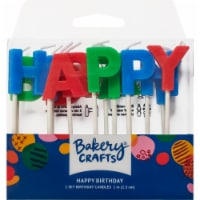 DecoPac Happy Birthday Letter Candles