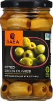 Gaea Pitted Green Olives - 10.2 oz