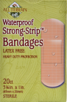 All Terrain Waterproof Strong-Strip Bandages