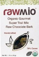 Windy City Organics Rawmio Organic Gourmet Super Trail Mix Raw Chocolate Bark