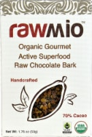 Windy City Organics Rawmio Organic Gourmet Active Superfood Raw Chocolate Bark