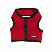 Bark Appeal SRWNG-L Wrap N Go Mesh Cloth Hook & Eye Harness, Red - Large - 1