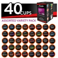 Brooklyn Beans Assorted Variety Pack K-Cups Coffee for Keurig Brewers, 40 Count