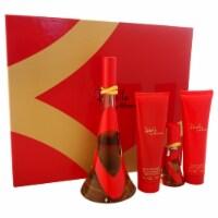Rebelle by Rihanna for Women - 4 Pc Gift Set EDP Sprays, Body Lotion, Bath & Shower Gel