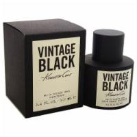 Kenneth Cole Vintage Black EDT Spray 100ml/3.3oz - 100ml/3.3oz