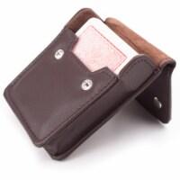 Copag 4 Color Regular Index deck - Red in leather case